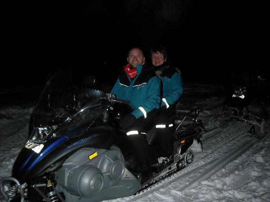 Icehotel: Snowmobiles