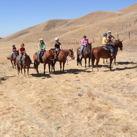 The Inn at Work Family Ranch: Group Horseback Riding