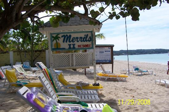 Merrils Beach Resort Ii Merrills Sign