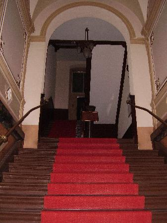 Hotel-Pension Cortina: First Impressions --- Stairs !