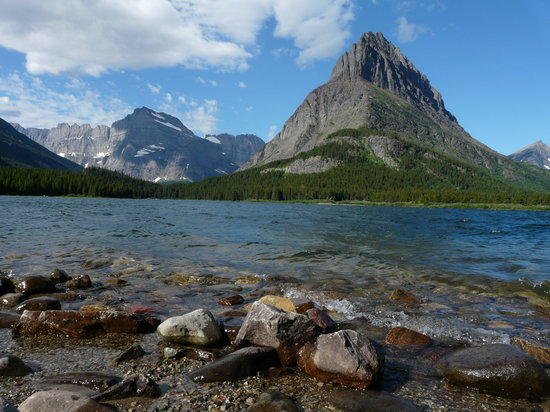 Glacier National Park, Μοντάνα: Swiftcurrent Lake