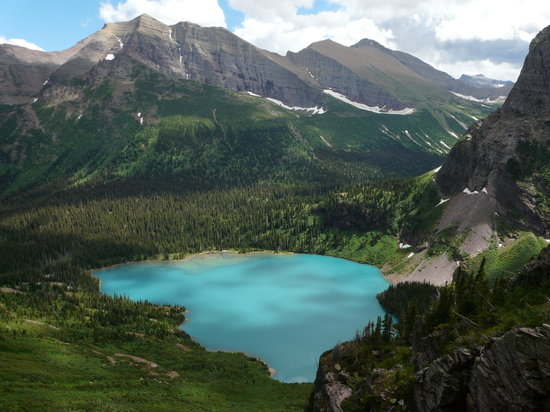 Glacier National Park, MT: Grinnell Lake