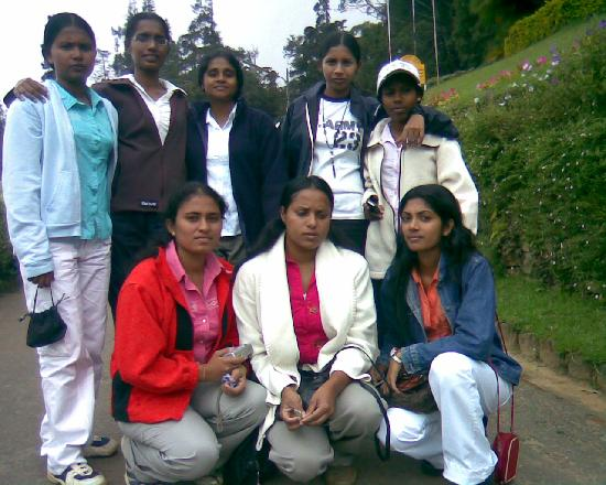 Nuwara Eliya, Sri Lanka : haggala gardn