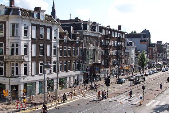 Princess Hostel Amsterdam: vista desde la habitacion