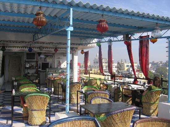 Panorama Guest House : Rooftop restaurant