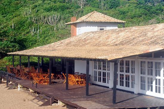 Apa Pau Brasil Travel Inn : Beach's restaurant