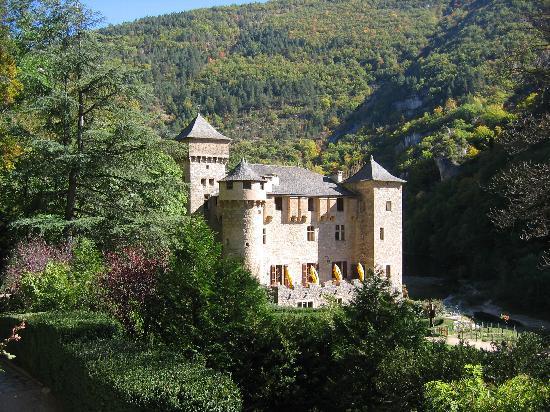 Gorges du Tarn: Chateau de la Caze