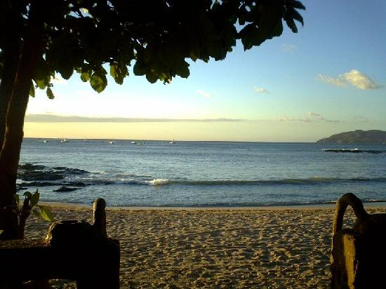 Tamarindo, Costa Rica: Our view in the evening