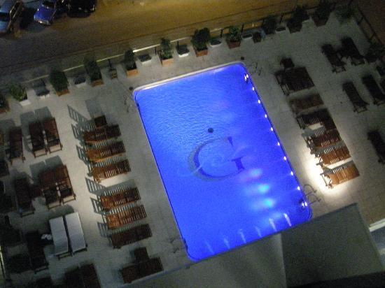 Hotel Costa Galana: View of Pool from our Room