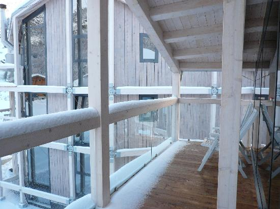 Hotel Matterhorn Focus: Terasse Focus Dachsuite