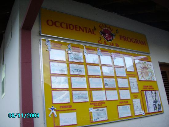 Occidental Caribbean Village Playa Dorada : fraud