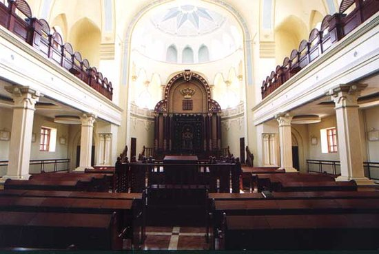 Kharkiv, Ukraine: inside the Synagogue