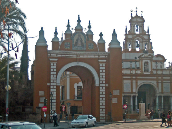 Seville, İspanya: Arco de la Macarena