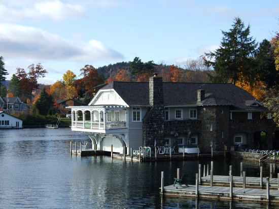 Boathouse Bed and Breakfast A Lake Castle Estate on Lake George: The Boathouse
