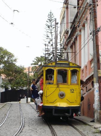 Maria Santa Teresa: Santa Teresa Trolley