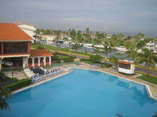 Hotel Club Acuario: Otra vista superior