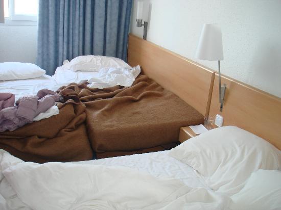 Novotel Barcelona Sant Joan Despi: The 'family' bedroom.