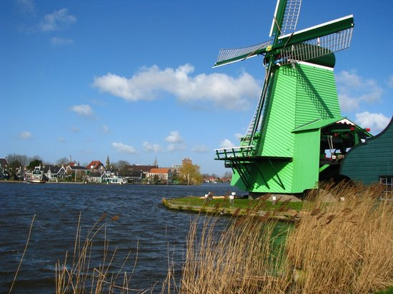 Zaandam, The Netherlands: old mill