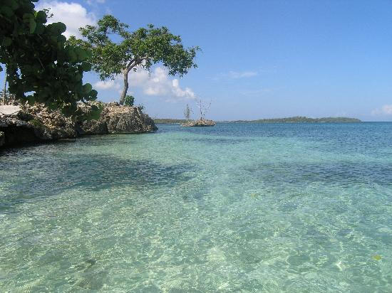 Green Island, Jamaica: Just look at the water