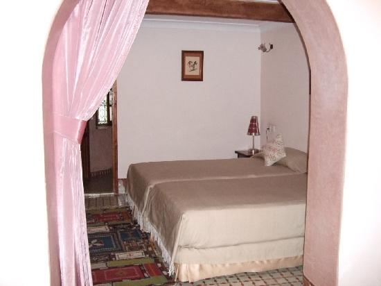 Riad Zamane: 少し小さめの部屋、スイート・ワルダ