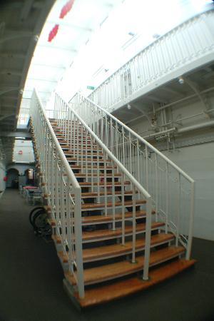 Jailhouse Accommodation: First floor of the Jailhouse Hostel