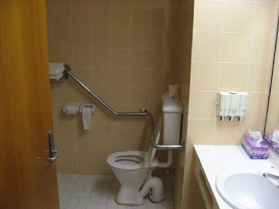 Port Stephens Marina Resort: Toilet