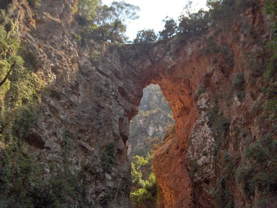 Auberge Dardara : Pont de Dieu - Akchour