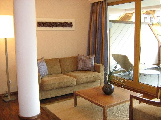 Das Central - Alpine . Luxury . Life : Junior Suite