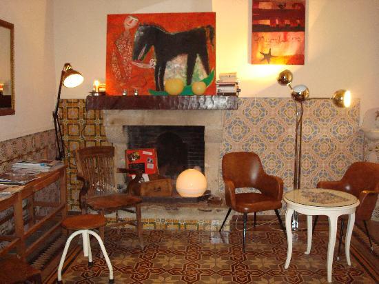 Aiguaclara Hotel: Sala de lectura