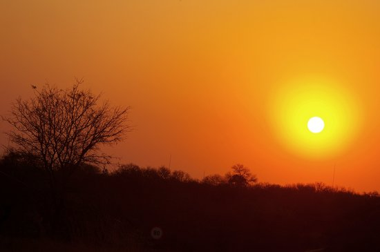 Phalaborwa, África do Sul: Sunset over the Lowveld