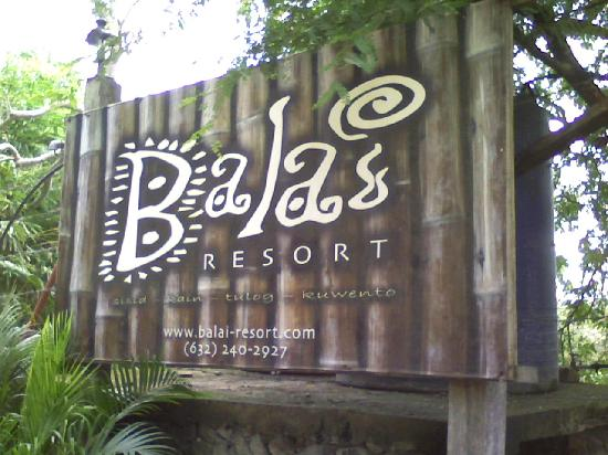Mabini, Philippines: resort entrance