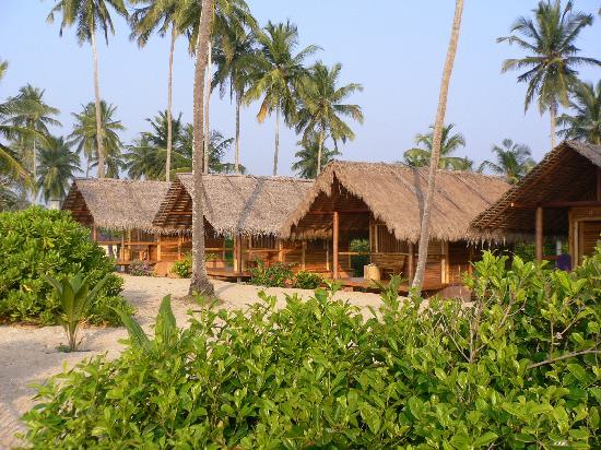 Mangrove Beach Cabanas & Chalets: Zimmer