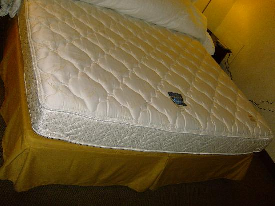 Bed Has An Expensive Mattress Set Picture Of Holiday Inn Express