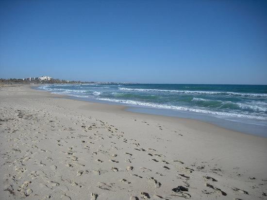 Hammamet (La Mahometa), Túnez: la spiaggia