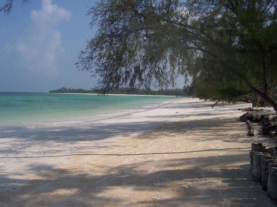Sansibar, Tansania: la spiaggia del residens