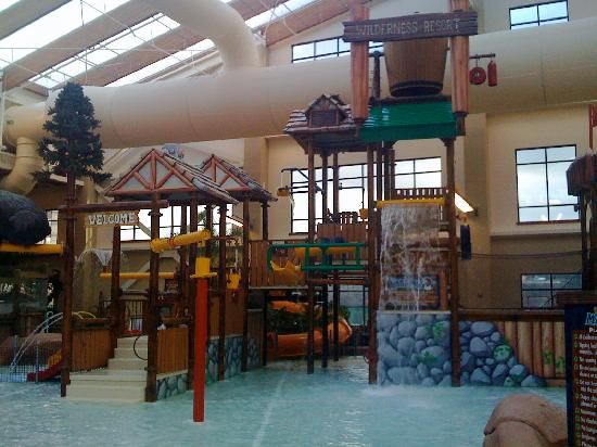 Wilderness at the Smokies Resort: Kid's play area