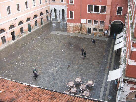 Pensione Guerrato: View from our window of the square
