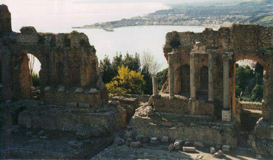 Ancient Theatre of Taormina: By:Airiel Maimone