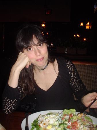 Peacock Villa Motel: Nice Salad