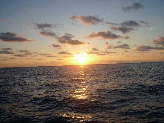 Malolo Island Resort : sunset at Malolo