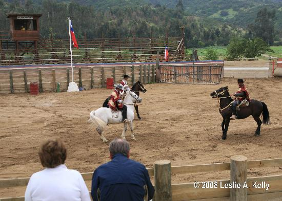 Casablanca, ชิลี: Huasos (Cowboys) Perform Rodeo Events at Puro Caballo