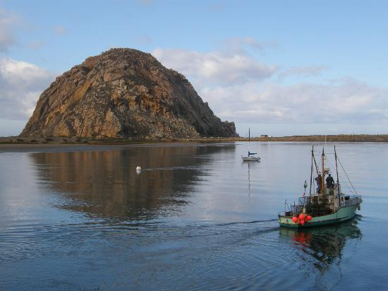 Fishing boat picture of anderson inn morro bay for Morro bay fishing
