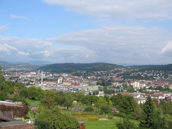 Gasthaus Maien: Vistas desde el balcón de nuestra habitación