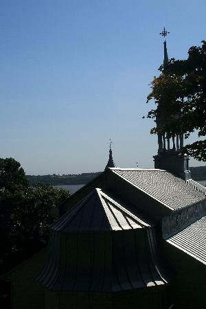 Sanctuaire Sainte-Anne-de-Beaupré: Roof of the Original Church (partly dating to 1676)