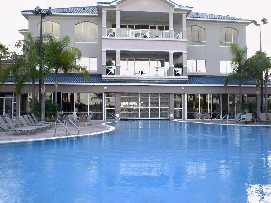 Nice Indoor Outdoor Pool Picture Of Bluegreen Fountains Resort Orlando Tripadvisor
