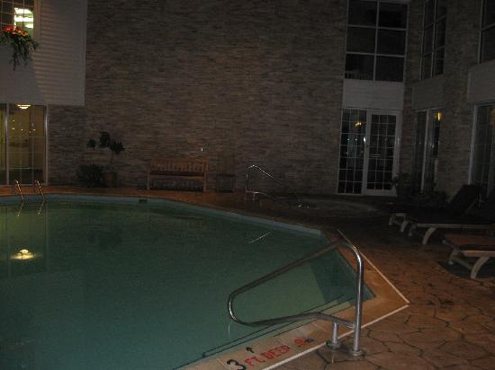 Cherry Valley Lodge: Pool and hottub