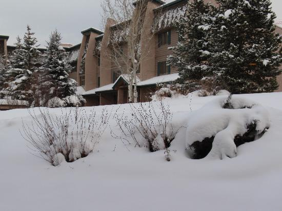 The Lodge At Steamboat: our view from the master bdrm