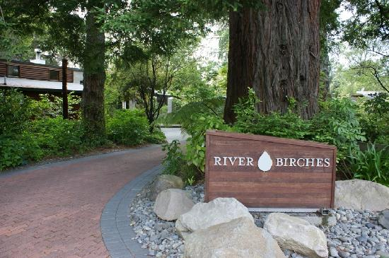 River Birches Lodge: River Birches Entrance
