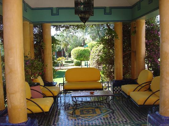 salon de jardins picture of kenzi club oasis marrakech. Black Bedroom Furniture Sets. Home Design Ideas