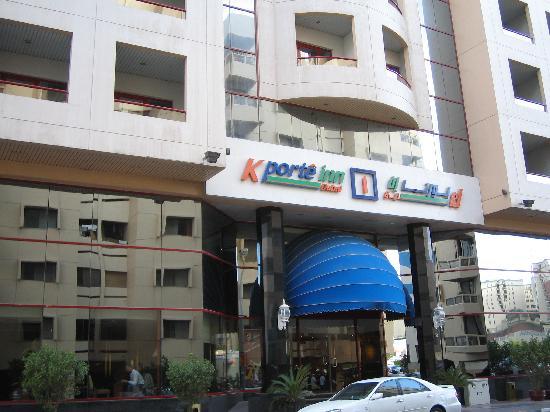 K-Porte Inn Hotel: front